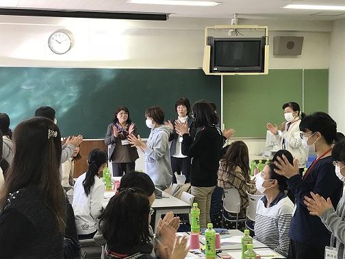 保育士向けキャリアアップ研修会の様子(写真)